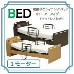 電動リクライニングベッド 1モータータイプ(マットレス付き) HMFB-8811JNS_UFA-12S
