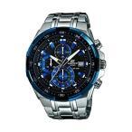 カシオ CASIO EDIFICE クオーツ メンズ 腕時計 EFR-539D-1A2V ブラック/ブルー [逆輸入]