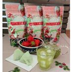 いちご緑茶ティーバック 3g20パック入り 3袋   fruits  green tea Strawberry
