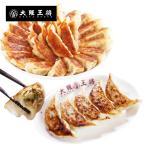 【大阪王将】元祖肉餃子とジャンボにら餃子セット(合計65個・ぎょうざ・王将・ギョーザ)