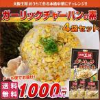 ショッピング餃子 【大阪王将】送料無料!ガーリック炒飯の素4袋セット