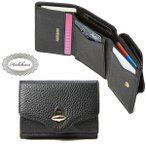 Hashibami ハシバミ Hashibami New Jean Mini Wallet ニュー ジーン ミニウォレット 財布 小銭入れ カード 本革 レザー