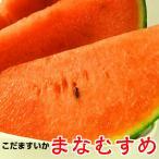 小玉すいか 茨城県 紅こだま西瓜 まなむすめ 2玉約2.5kg以上 小玉スイカ産地 筑西市KEKより産地直送 お取寄せ 甘さとシャリ感 産地直送