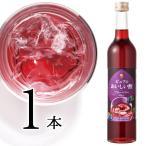 果実酢 飲むおいしい酢ブルーベリー500mlフルーツビネガー