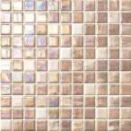 タイル建材 名古屋モザイク RICOMOSAIC(リコモザイク) (A)アクセントカラー 25角 1シート
