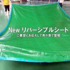 ブルーシート #3000 厚手防水 サイズ5.4m×7.2m 1枚 緑&青