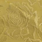 生地 メタルジャガード大薔薇(120010) 5.ゴールド×ゴールド k2