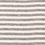 生地 ボーダーニット(AN146906) 12.グレー×白 [b]k3