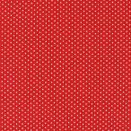 生地 水玉ブロード(288190) SS 1-10.赤地×白 (b)k1