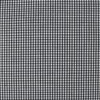 生地 ギンガムチェック 小(240014) 106.ブラック (b)k1
