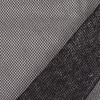 生地 ラメメッシュ(481) 9.黒×シルバー k2