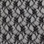 生地 ラッセルレース(3277) 8.黒 (b)a
