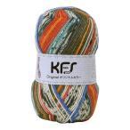 Opal毛糸 オリジナルカラー(KFS101) ランデブー/グリーン・レッド系マルチカラー (b)5bj