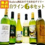 ショッピング白 ワイン 旨安 デイリー 白ワイン 6本 セット 送料無料 Okadaya酒店 wine set
