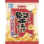 カルビー 堅あげポテト 白えび味 65g×12袋