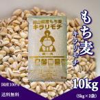 新麦 キラリもち麦 10kg (5kg×2袋) 令和3年 岡山県産 国産100% もち麦 送料無料