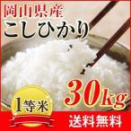 29年産 岡山県産こしひかり30kg (5kg×6袋)