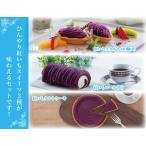 ケーキセット(紅いも生タルト10個入+紅いもロール大+紅いもタルトケーキ)送料込み 冷凍便 のし包装不可 紅芋 紫芋 御菓子御殿