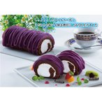 送料無料ロールケーキセット(紅いもロール大×8) 冷凍便 のし包装不可 紅 紫芋 御菓子御殿
