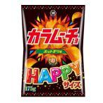 コイケヤ HAPPYサイズ カラムーチョチップス ホットチリ味 175g 12コ入り 2020/11/16発売 (4514410127180)