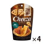 (全国送料無料) グリコ 生チーズのチーザ〈燻製チーズ味〉40g 4コ入り メール便 (4901005544321x4m)