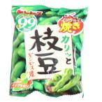 詰め合わせ お菓子 (全国送料無料) ギンビス カリッと枝豆 ノンフライ焼き 6袋 おかしのマーチ メール便 (4901588800524sx6m)