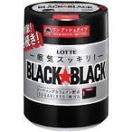 ロッテ ブラックブラック粒ワンプッシュボトル 140g 36コ入り (4903333106530c)