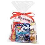 お菓子 詰め合わせ おかしのマーチ ブルボン 袋入りお菓子・グミラッピングセット(7種・全10コ) (omtma0661)