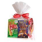(地域限定送料無料) グリコ スティック菓子 ポッキー&プリッツ(5種・計5コ)食べ比べセット ラッピングver プチギフト (omtma5902k)