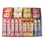 お菓子 詰め合わせ (送料無料) おかしのマーチ グリコお菓子ギフトセットC プチギフト(2種・計18コ)プレゼント (omtmb0689k)