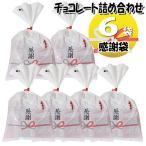 (全国送料無料) 感謝袋 6袋 お菓子 詰め合わせ(Iセット) 駄菓子 袋詰め おかしのマーチ メール便 (omtmb5656)