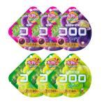 お菓子 詰め合わせ (全国送料無料) UHA味覚糖 コロロ(グレープ 3コ・マスカット 3コ 計6コ)セット おかしのマーチ メール便 (omtmb5996)