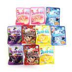 お菓子 詰め合わせ (全国送料無料) ブルボン フェットチーネグミ セット(5種・計10コ) おかしのマーチ メール便 (omtmb6102)