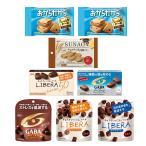 チョコレート 詰め合わせ (全国送料無料) グリコ いつでも食べたいからだにやさしいチョコレートセット(7種・8コ) おかしのマーチ メール便 (omtmb6419z)