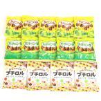 詰め合わせ お菓子 (全国送料無料) プチロル たけのこの里 きのこの山 チョコセット (3種・計14個) おかしのマーチ メール便 (omtmb6591z)