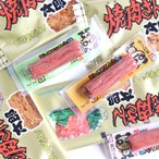 お菓子 詰め合わせ (全国送料無料) 駄菓子おつまみ焼肉さん太郎とカルパスのセット (2種・計85個) おかしのマーチ メール便 (omtmb6979)