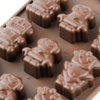 チョコレート型 シリコンモールド ROBOCHOC(ロボット)SCG018 チョコ型 チョコレートモールド ケーキ型 モルド