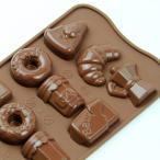 チョコレート型 シリコンモールド Good morning(グッドモーニング)SCG 22 チョコ型 モルド EASYCHOC イージーチョコ ショコラ
