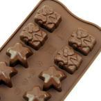 チョコレート型 シリコンモールド CHRISTMAS(クリスマス)SCG06 チョコ型 チョコレートモールド ケーキ型