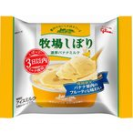 牧場しぼり(濃厚バナナミルク) 24個入 江崎グリコ
