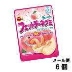 ブルボン フェットチーネグミ イタリアンピーチ味 (6袋) 感謝の10%増量 もも グミ キャンディ 駄菓子 メール便