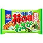 亀田製菓亀田の柿の種わさび182g×6袋入