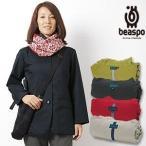 [BS287] ビアスポ/暖軽(あったかる)レディスジャケット/トラベルジャケット、軽量300g、コンパクト収納、テーラードジャケット