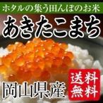 ほたるの集う田んぼのお米 岡山県産あきたこまち(白米)2kg(お試し) 送料無料(一部地域を除く)