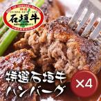 石垣牛ハンバーグ8個 ギフトセット 4箱セット【ポイント10倍】