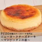 マンハッタンの恋 ニューヨークチーズケーキ 送料込  チーズケーキ専門店 PUZO
