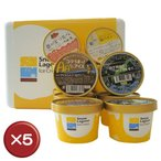 ショッピングアイスクリーム Snow Lagoon Ice Cream OKINAWAバラエティパック12個入りアイスクリーム5箱セット 送料無料