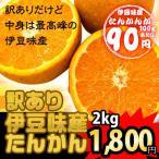 (沖縄みかん) 沖縄県伊豆味産たんかん(ワケあり) 2kg