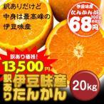 (沖縄みかん) 沖縄県伊豆味産たんかん(ワケあり) 20kg