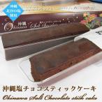 塩チョコスティックケーキ 6個入り ナンポー 沖縄 お土産 チョコレート 北谷の塩